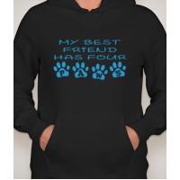 Paw Friend Hooded Sweatshirt