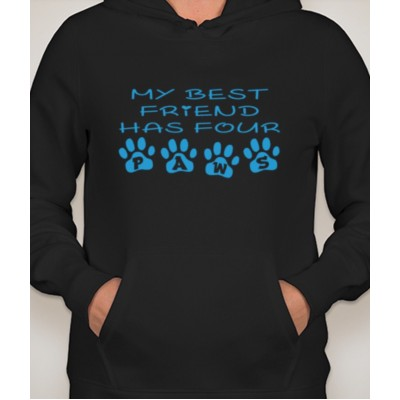 Paw Friend Hooded Sweatshirt