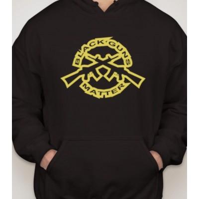 Black Guns Matter Hooded Sweatshirt