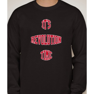 'It's Revolution Time' Long Sleeve T-Shirt