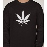 Pot Leaf Long Sleeved T-Shirt