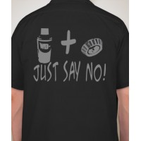 """Just Say No"" Mechanic Shirt"