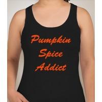 Pumpkin Spice Addict Racerback Tank