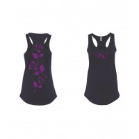 Beauty and the Rose Racerback Tank