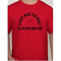 I'll Be Watching... Xmas T-Shirt