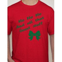 """""""HO HO HO"""" XMAS T-Shirt"""