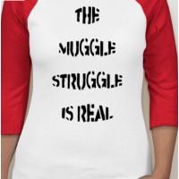 'Muggle Struggle' Raglan T-Shirt