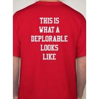 Deplorable (TRUMP 2016) T-Shirt