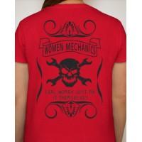 Women Mechanic T-Shirt